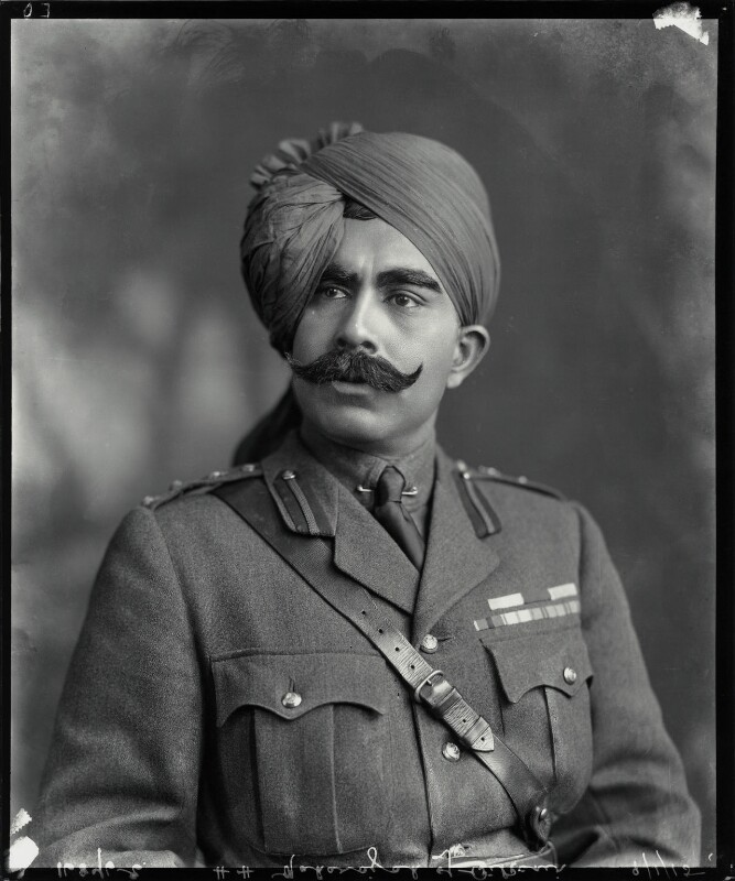 Ganga Singh, Maharaja of Bikaner, by Vandyk, 9 January 1915 - NPG x74765 - © National Portrait Gallery, London
