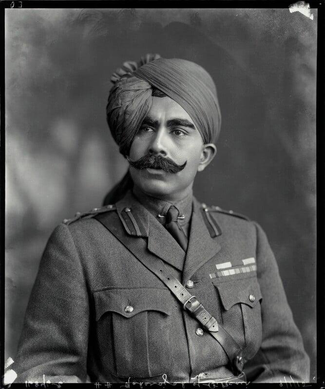 Ganga Singh, Maharaja of Bikaner, by Vandyk, 9 January 1915 - NPG x74765 - © National Portrait Gallery, London