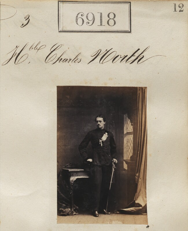 Hon. Charles North, by Camille Silvy, 3 February 1862 - NPG Ax56837 - © National Portrait Gallery, London