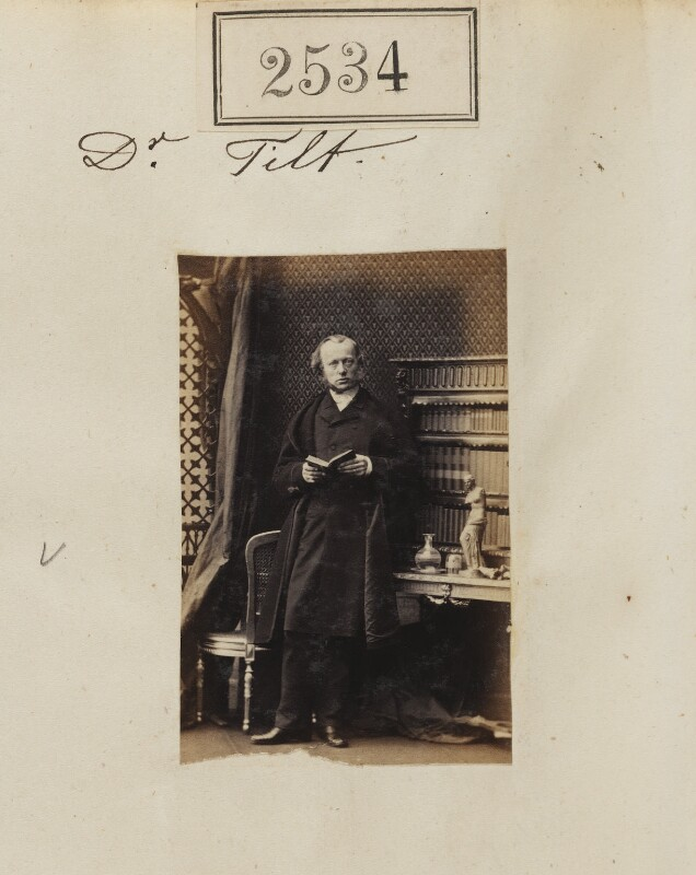 Edward John Tilt, by Camille Silvy, 14 March 1861 - NPG Ax51923 - © National Portrait Gallery, London