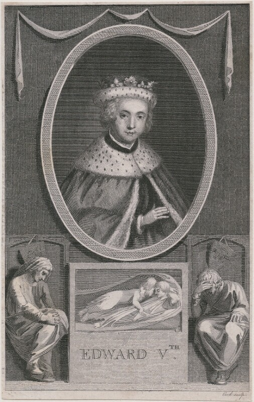 Possibly King Edward V, probably by Thomas Cook, published 1788 - NPG D9394 - © National Portrait Gallery, London