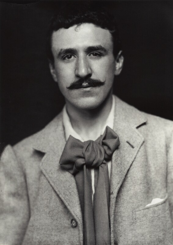 Charles Rennie Mackintosh, by James Craig Annan, 1893 - NPG x132515 - © National Portrait Gallery, London