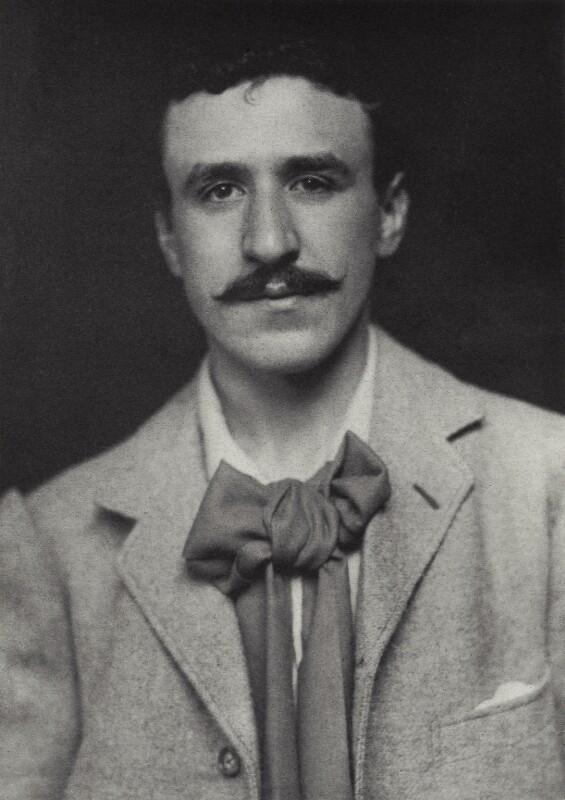 Charles Rennie Mackintosh, by James Craig Annan, 1893 - NPG x132516 - © National Portrait Gallery, London