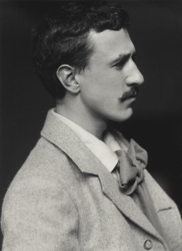 Charles Rennie Mackintosh, by James Craig Annan, 1893 - NPG x132517 - © National Portrait Gallery, London