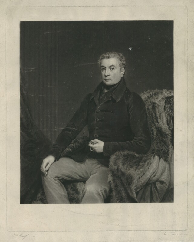 George Gordon, 5th Duke of Gordon, by Charles Turner, after  J. McKenzie, circa 1830 - NPG D34608 - © National Portrait Gallery, London