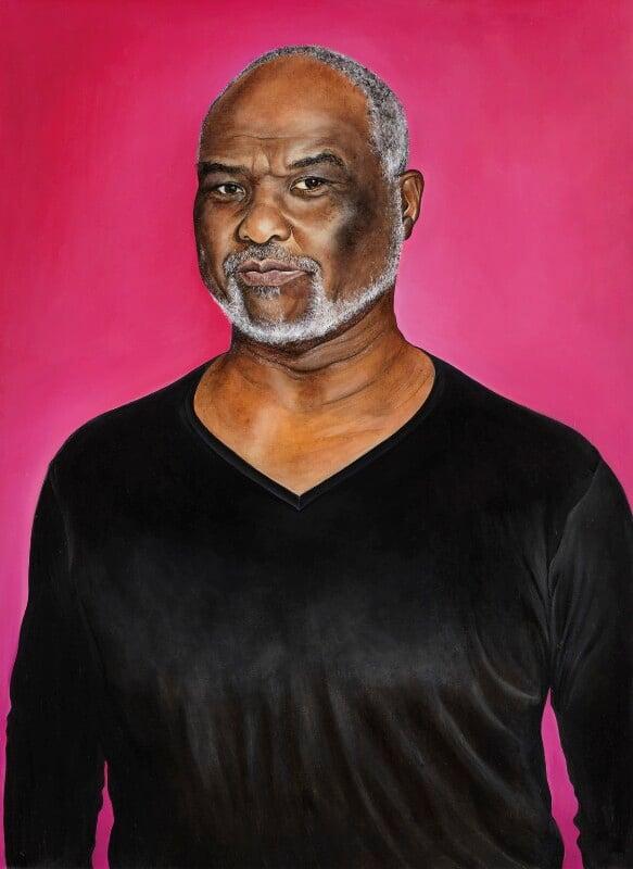 Willard White, by Ishbel Myerscough, 2009 - NPG 6886 - © National Portrait Gallery, London