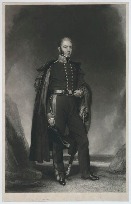 William Gordon, by Charles Edward Wagstaff, after  Henry William Pickersgill, mid 19th century - NPG D34633 - © National Portrait Gallery, London