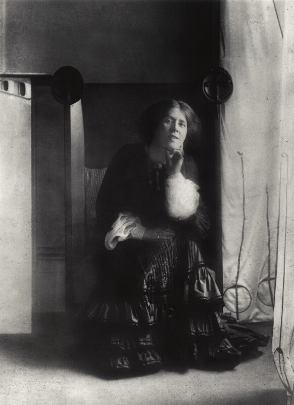 Margaret MacDonald Mackintosh, by James Craig Annan, circa 1901 - NPG x132532 - © National Portrait Gallery, London