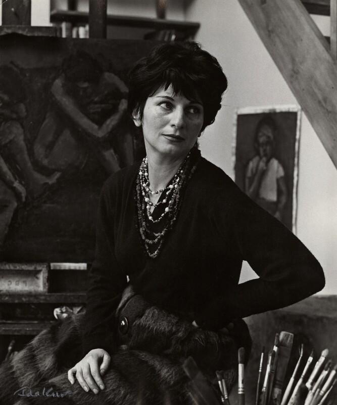 Myra Kupman, by Ida Kar, circa 1964 - NPG x132554 - © National Portrait Gallery, London