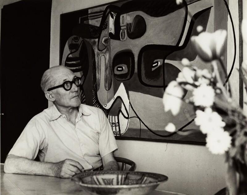 Le Corbusier, by Ida Kar, 1954 - NPG x132556 - © National Portrait Gallery, London