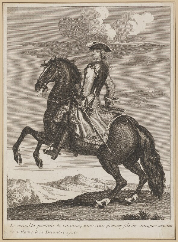Prince Charles Edward Stuart, after Unknown artist, circa 1735-1750 - NPG D34709 - © National Portrait Gallery, London