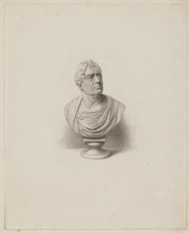 Sir Robert Dallas, by William Holl Sr, published by  Robert Cribb, after  Robert William Sievier, published 1824 - NPG D34667 - © National Portrait Gallery, London