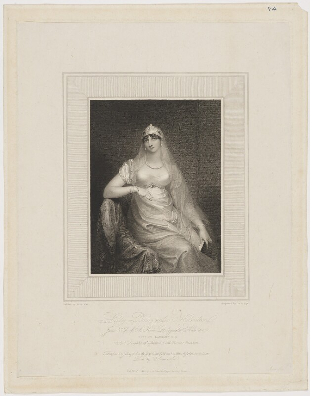 Jane Dalrymple-Hamilton (née Duncan), by John Samuel Agar, after  Anne Mee (née Foldsone), published 1812 - NPG D34670 - © National Portrait Gallery, London