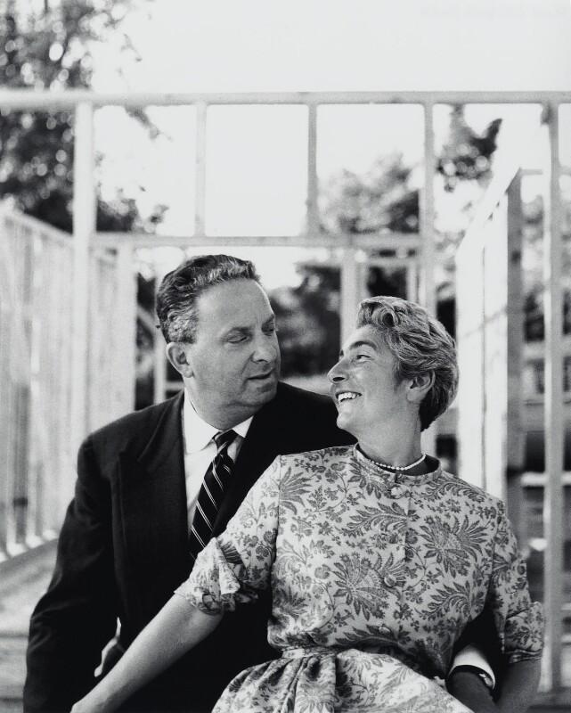 Hans Peter Juda; Elsbeth R. Juda, by Elsbeth R. Juda, 1950s - NPG x132541 - © Elsbeth R. Juda / V&A Images