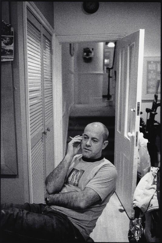 Keith Allen, by Pete Millson, February 2001 - NPG x132546 - © Pete Millson