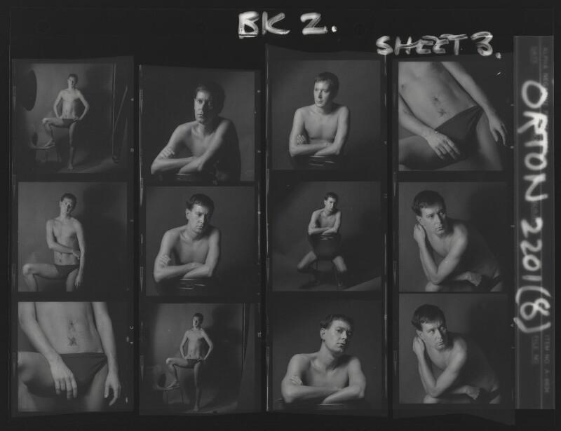 Joe Orton, by Lewis Morley, 1965 - NPG x88373 - © Lewis Morley Archive / National Portrait Gallery, London