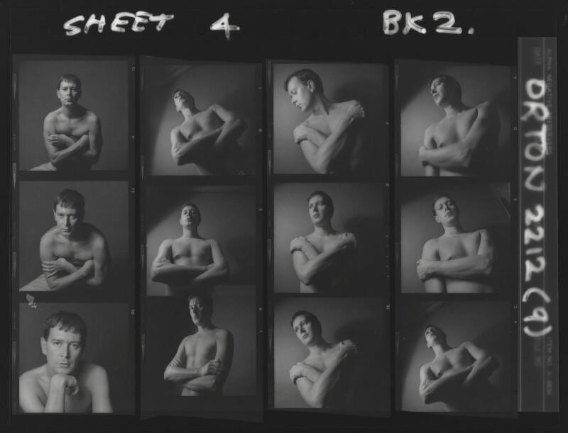 Joe Orton, by Lewis Morley, 1965 - NPG x88374 - © Lewis Morley Archive