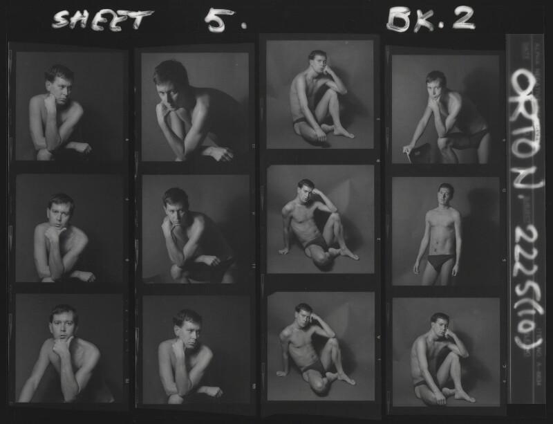 Joe Orton, by Lewis Morley, 1965 - NPG x88375 - © Lewis Morley Archive