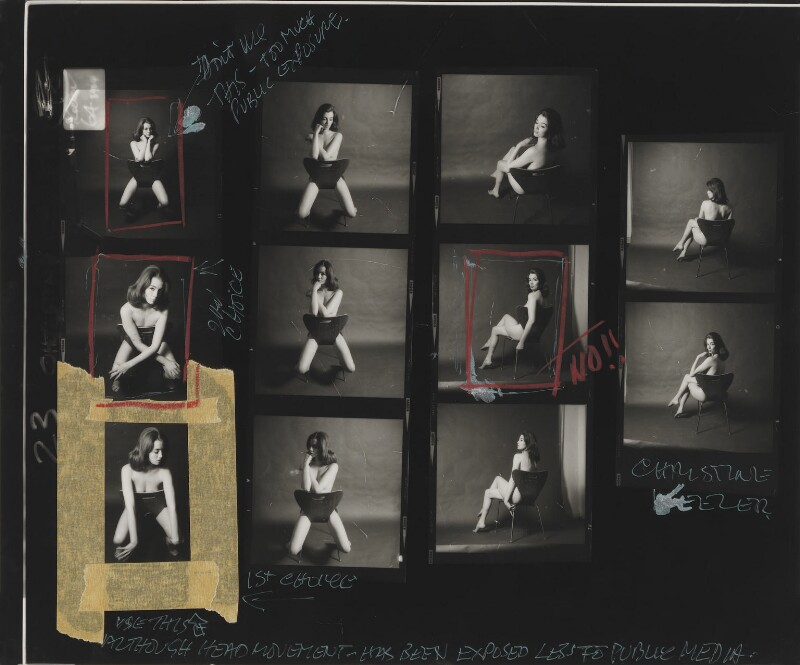 Christine Keeler, by Lewis Morley, June 1963 - NPG x38962 - © Lewis Morley Archive