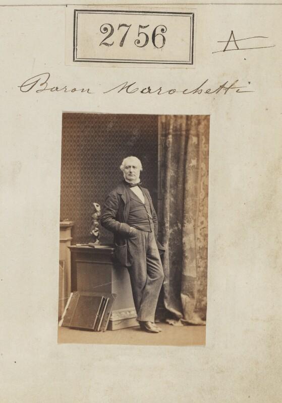 (Pietro) Carlo Giovanni Battista Marochetti, Baron Marochetti, by Camille Silvy, 28 March 1861 - NPG Ax52145 - © National Portrait Gallery, London