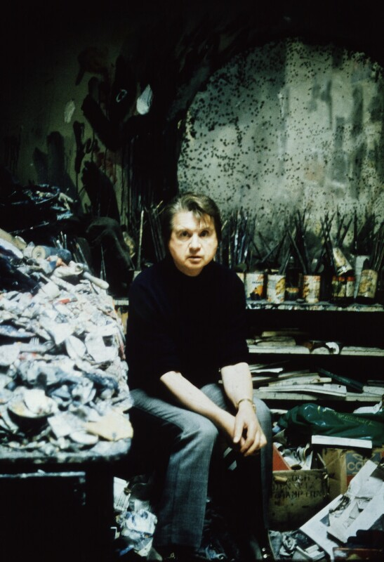 Francis Bacon, by Peter Stark, 1975 - NPG x1530 - © Peter Stark