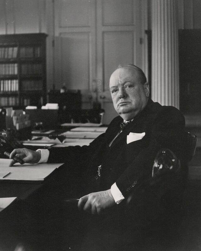 Winston Churchill, by Cecil Beaton, 1940 - NPG x40055 - © Cecil Beaton Studio Archive, Sotheby's London