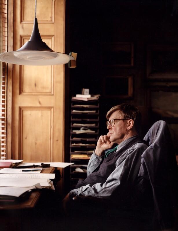 Alan Bennett, by Tom Miller, 26 January 1994 - NPG x88408 - © Tom Miller
