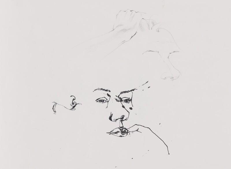 Helen Mirren, by Ishbel Myerscough, 1997 - NPG D9470(b) - © Ishbel Myerscough / National Portrait Gallery, London