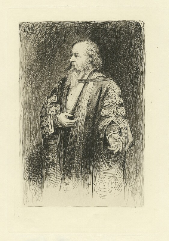 Sir Alexander Grant, 10th Bt, by William Brassey Hole, published 1884 - NPG D34766 - © National Portrait Gallery, London