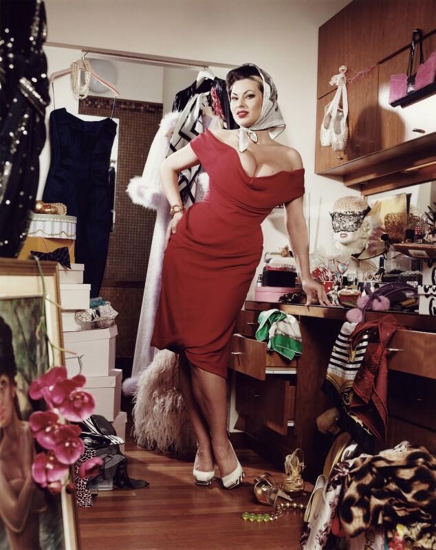 Immodesty Blaize (Kelly Fletcher), by Daniel Stier, 13 February 2008 - NPG x132582 - © Daniel Stier