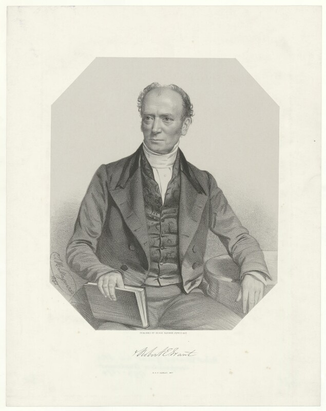Robert Edmond Grant, by Thomas Herbert Maguire, printed by  M & N Hanhart, published by  George Ransome, 1852 - NPG D34781 - © National Portrait Gallery, London