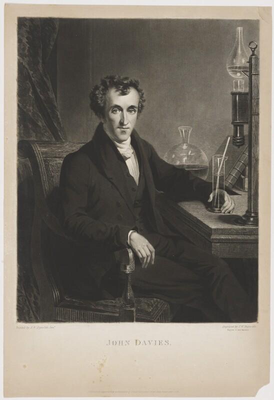John Davies, by Samuel William Reynolds, published by  Agnew & Zanetti, after  Samuel William Reynolds Jr, published February 1833 - NPG D34815 - © National Portrait Gallery, London