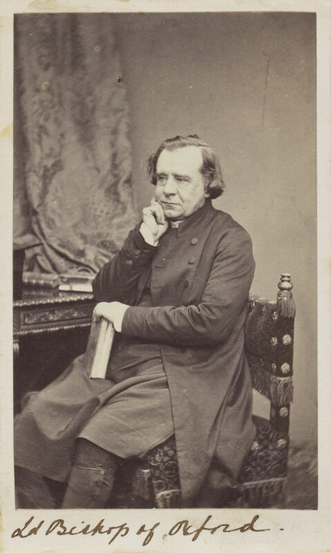 Samuel Wilberforce, by Unknown photographer, 1860s - NPG Ax10061 - © National Portrait Gallery, London