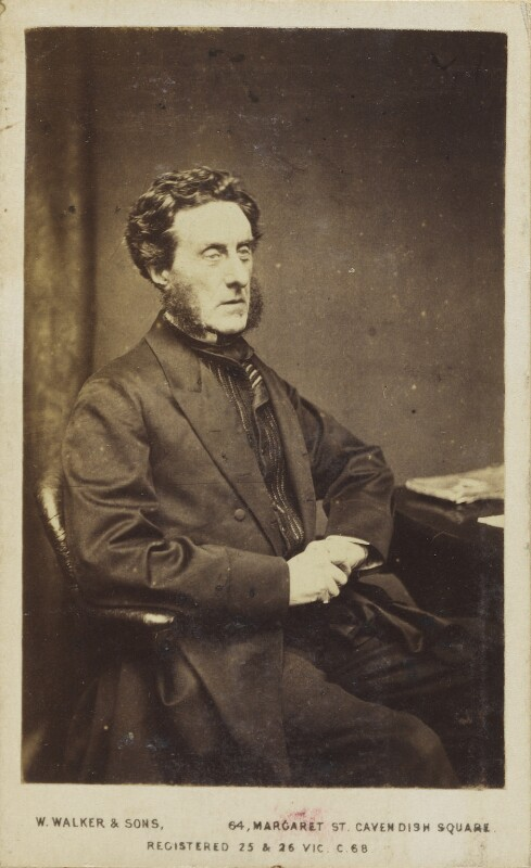 Anthony Ashley-Cooper, 7th Earl of Shaftesbury, by William Walker & Sons, 1864 - NPG Ax10076 - © National Portrait Gallery, London