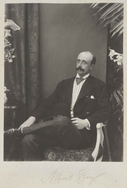 Albert Grey, 4th Earl Grey, by Cyril Flower, 1st Baron Battersea, 1890s - NPG Ax15651 - © National Portrait Gallery, London