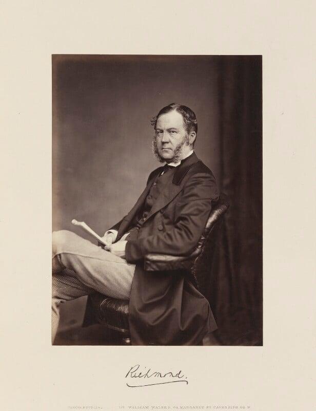 Charles Henry Gordon-Lennox, 6th Duke of Richmond, 6th Duke of Lennox and 1st Duke of Gordon, by William Walker, circa 1867 - NPG Ax15853 - © National Portrait Gallery, London