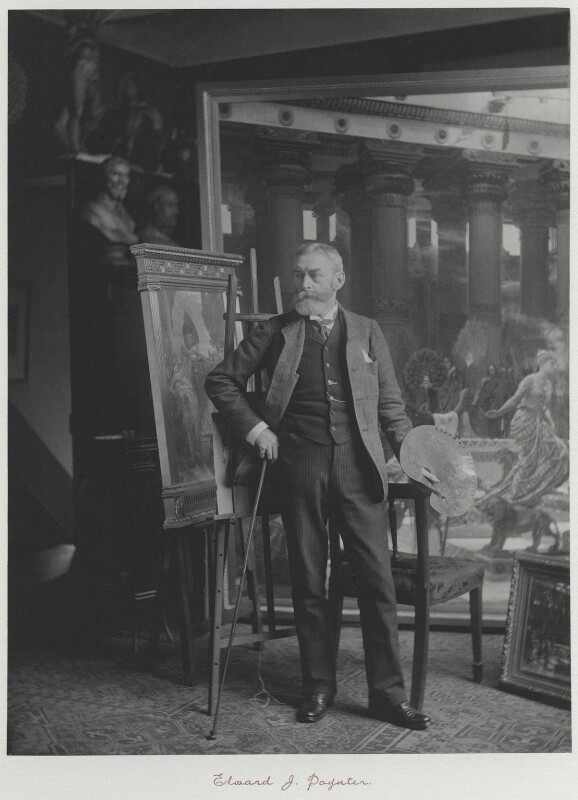 Sir Edward John Poynter, 1st Bt, by Ralph Winwood Robinson, published by  C. Whittingham & Co, circa 1891 - NPG x7386 - © National Portrait Gallery, London