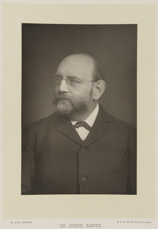 Sir Joseph Barnby, by W. & D. Downey, published by  Cassell & Company, Ltd, published 1893 - NPG Ax16157 - © National Portrait Gallery, London