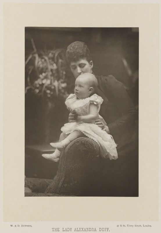 Queen Alexandra; Princess Alexandra, Princess Arthur of Connaught, by W. & D. Downey, published by  Cassell & Company, Ltd, published 1893 - NPG Ax16171 - © National Portrait Gallery, London