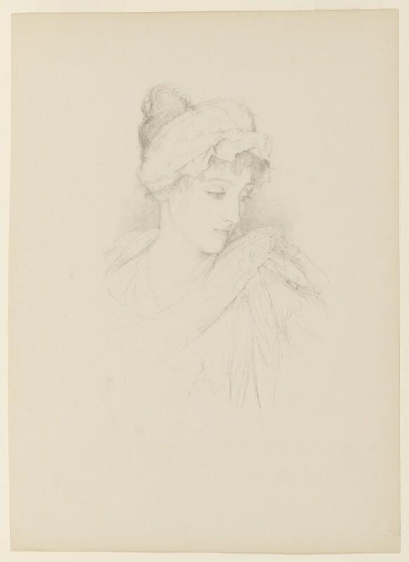 Norah Mary Madeleine Lindsay (née Bourke), after Violet Manners, Duchess of Rutland, 1897 - NPG D9486 - © National Portrait Gallery, London