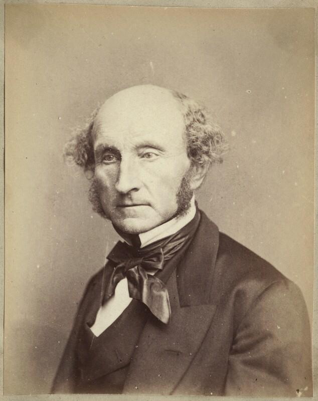 John Stuart Mill, by John Watkins, by  John & Charles Watkins, 1865 - NPG Ax21848 - © National Portrait Gallery, London