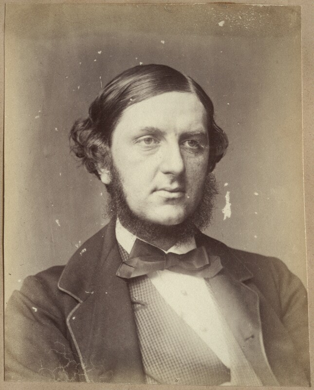 Sir William Vernon Harcourt, possibly by John Watkins, 1860s - NPG Ax21857 - © National Portrait Gallery, London