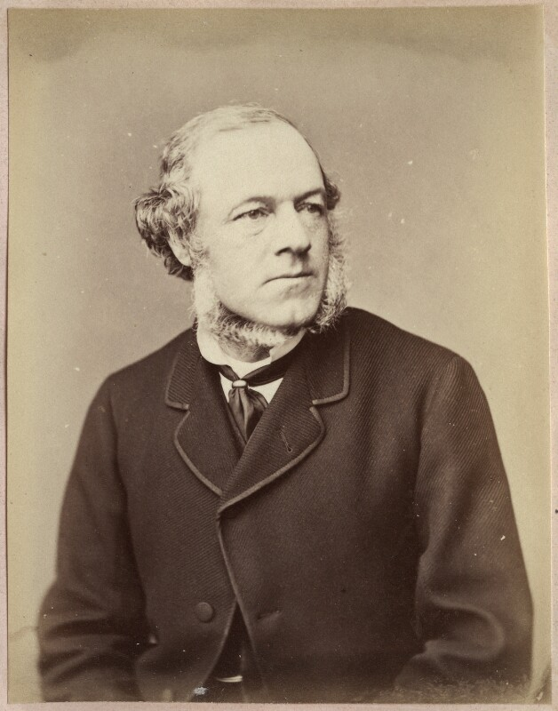 Henry Austin Bruce, 1st Baron Aberdare, by John Watkins, 1870 or before - NPG Ax21859 - © National Portrait Gallery, London