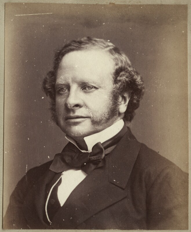 Granville George Leveson-Gower, 2nd Earl Granville, by John Watkins, early 1860s - NPG Ax21861 - © National Portrait Gallery, London