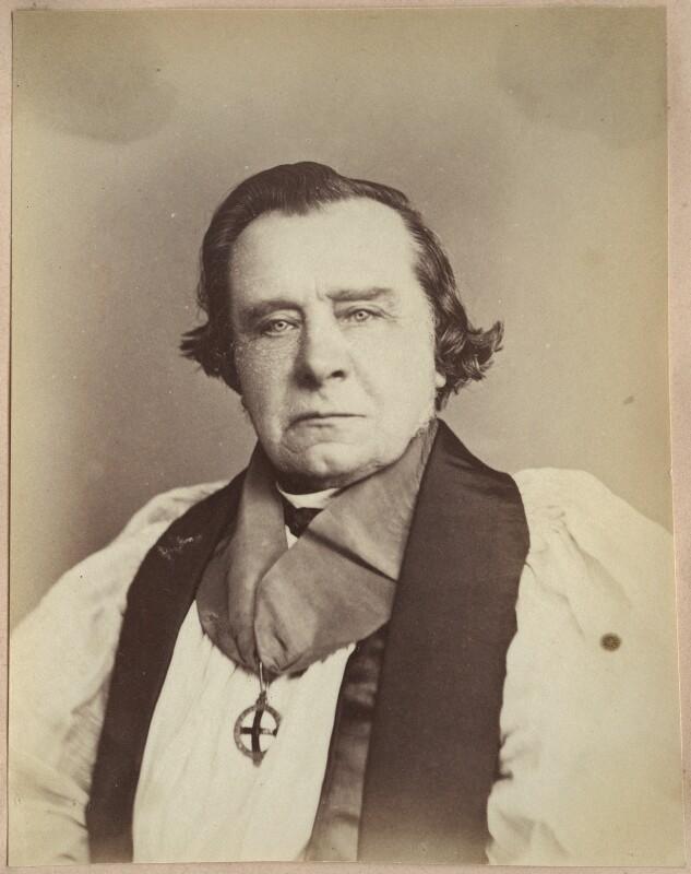 Samuel Wilberforce, by John Watkins, 1870s - NPG Ax21872 - © National Portrait Gallery, London