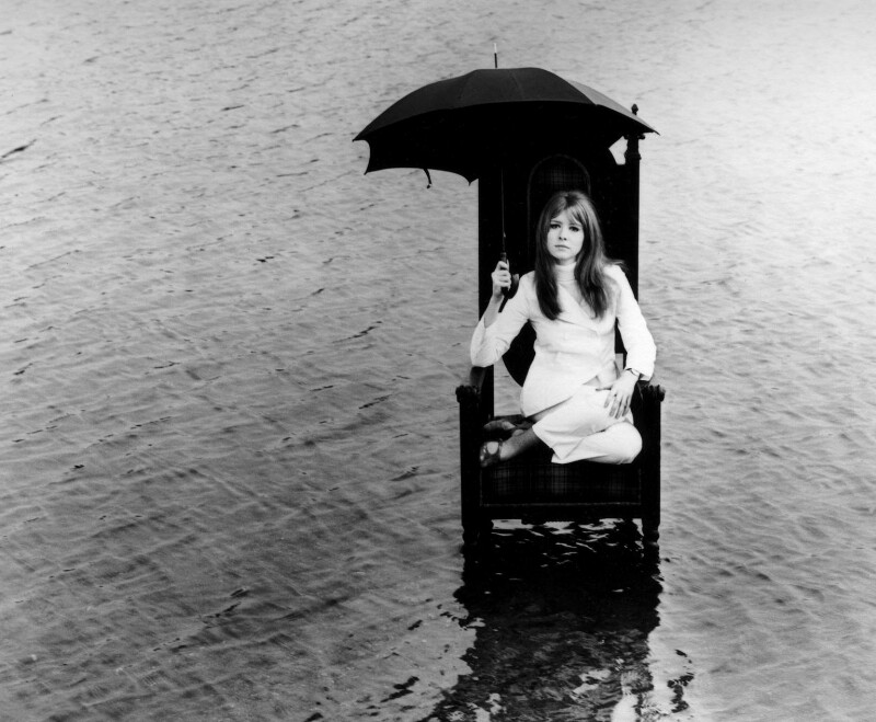 Jane Asher, by John d'Green, 1967 - NPG x88429 - © John d'Green