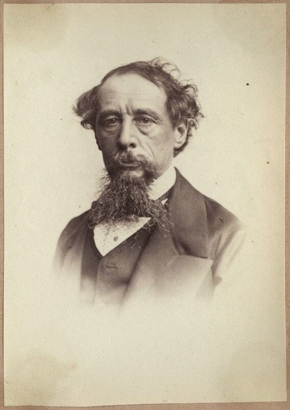 Charles Dickens, by John & Charles Watkins, 1860s - NPG Ax21884 - © National Portrait Gallery, London