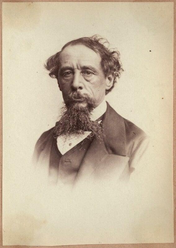 Charles Dickens, by John & Charles Watkins, 1860s - NPG Ax21884 - © National Portrait Gallery, London