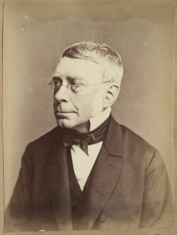 Sir George Biddell Airy, by John Watkins, 1860s - NPG Ax21890 - © National Portrait Gallery, London