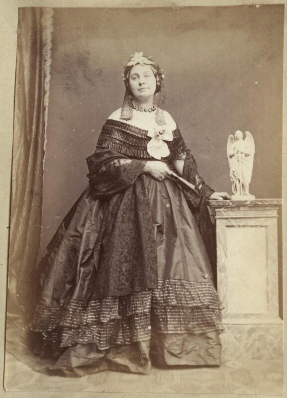 Caroline Elizabeth Sarah Norton (née Sheridan, later Lady Stirling-Maxwell), by John & Charles Watkins, 1863 - NPG Ax21897 - © National Portrait Gallery, London